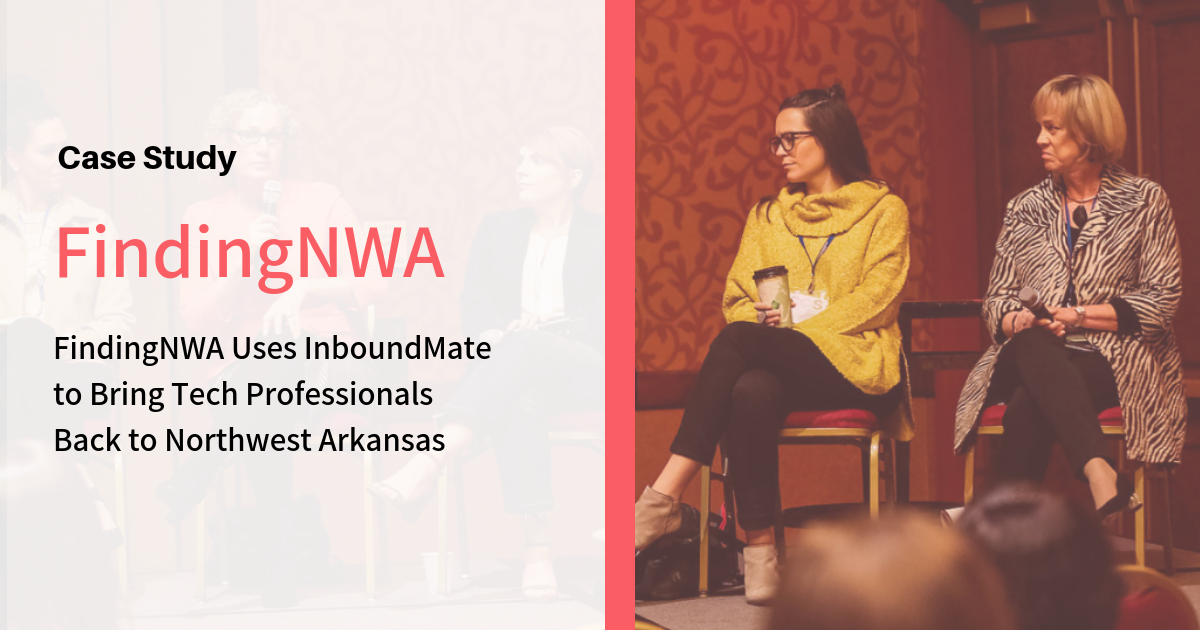 FindingNWA Uses InboundMate to Bring Tech Professionals Back to Northwest Arkansas